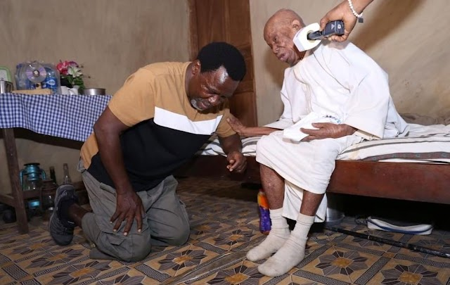 TB Joshua's Visit To Over 150-Year Olds Go Viral