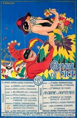 Carnaval de Nice affiche 1927