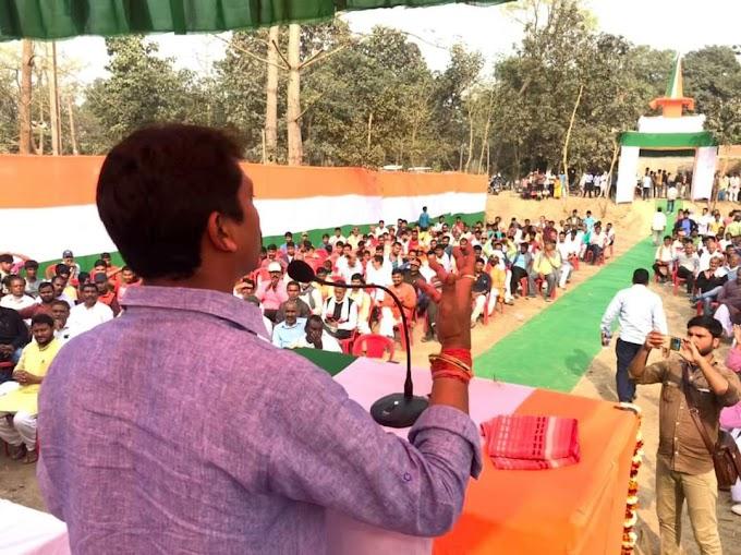 देश की सीमाओं की रक्षा के लिए शहादत देने वाले वीर सपूत सदैव अमर रहेंगे: सुमित कुमार सिंह