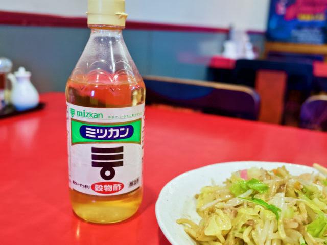 ミツカン酢のボトル