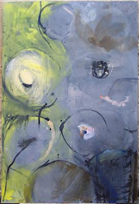 Rond point, 1999 150 x 100 cm, t.m. sur toile