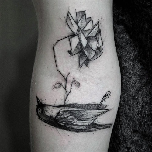 este_agridoce_pssaro_e_flor_de_tatuagem
