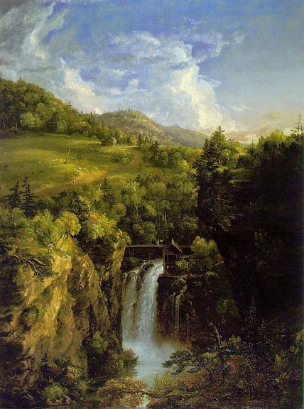 Thomas Cole - Genesee Scenery