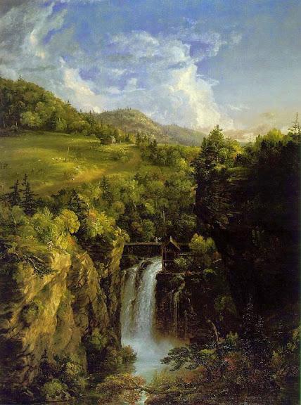 Thomas Cole - Genesee Scenery
