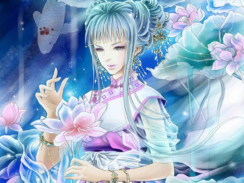 Sea And Air Beauty, Fairies 1