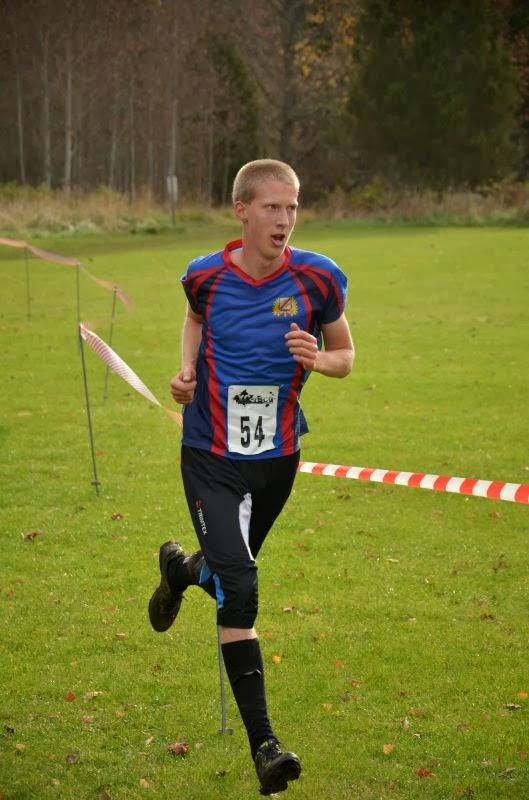 Erik Boman varvar i ledning