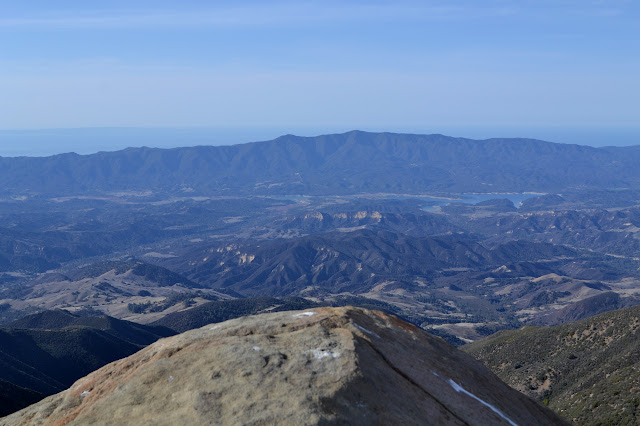 Cachuma Lake from McKinley Mountain