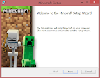 Minecraftの新ランチャーをインストール