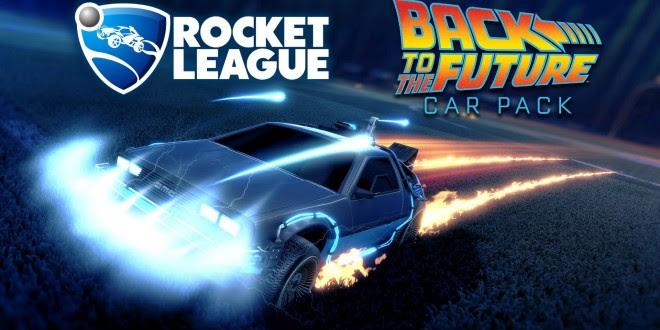 Rocket Leagueデロリアン