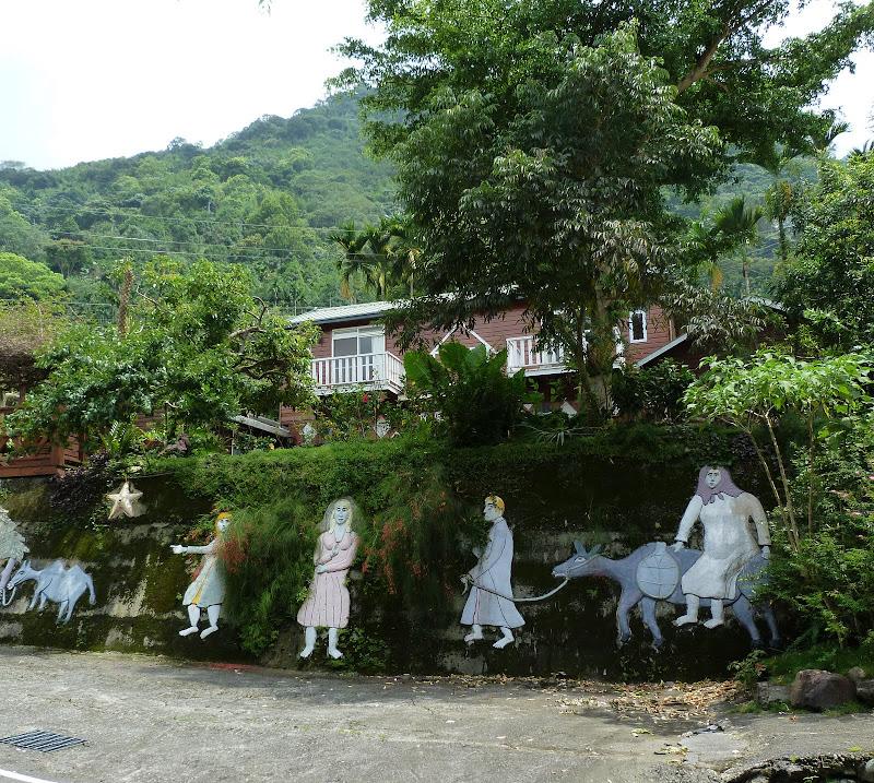 Puli  en passant , entre autres, par les villages de l ethnie Bunum de Loloko et Dili. J 10 - P1170092.JPG