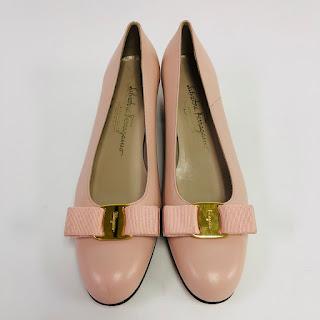 Salvatore Ferragamo NEW Classic Kitten Heels