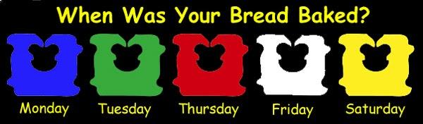 left field wander the bread code - Bread Ties Color