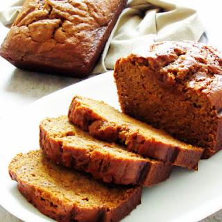 Classic Pumpkin Bread.