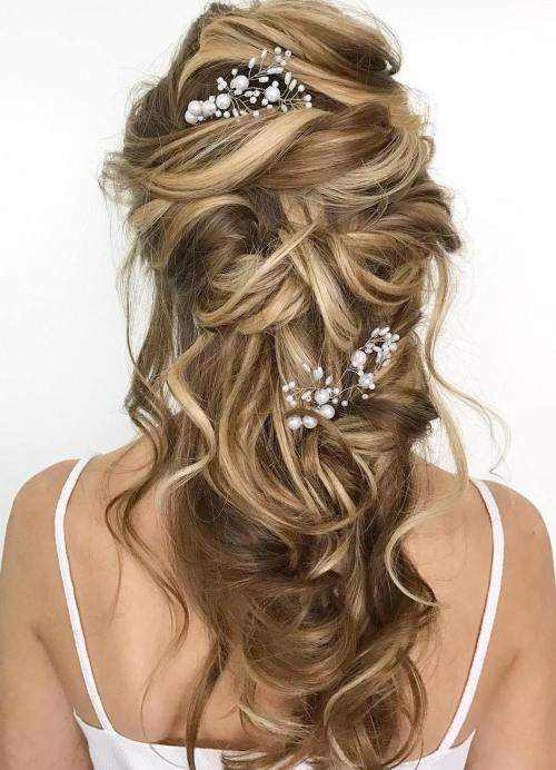 Best Wedding Hairstyles for Long Hair 2017 16