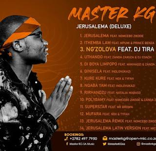 AUDIO   Master KG Ft Dj Tira & Nokwazi - Ng'zolova Mp3 (Audio Download)