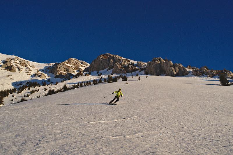 O tabla numai buna de schiat.