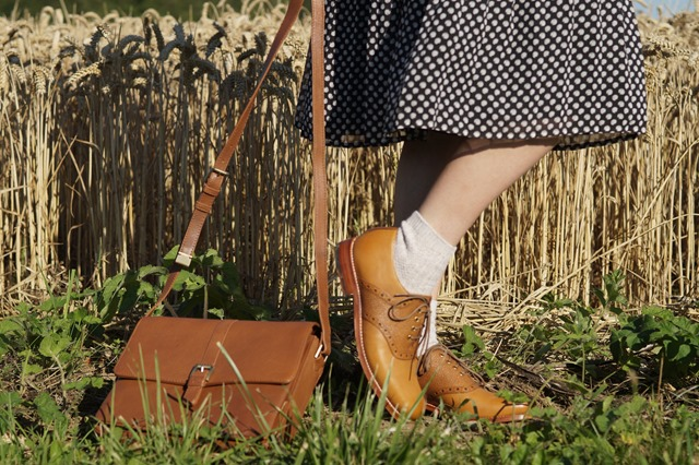 Country Attire review. Perfect tan brogues Grenson shoes