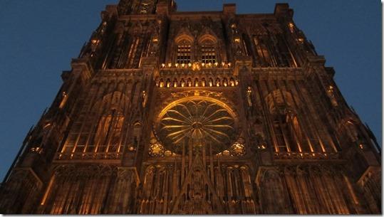 Cathédrale Notre Dame de Strasbourg by Night (5)
