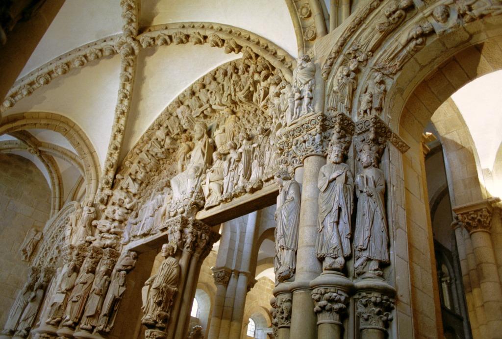 Pórtico de la Gloria de la Catedral de Santiago de Compostela - Camino de Santiago
