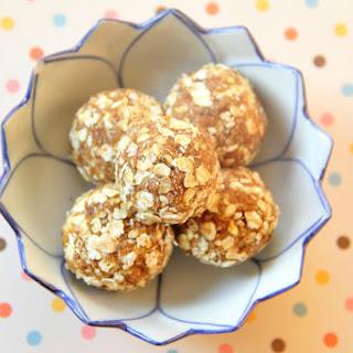 Caramel Oat Bites [Vegan, Raw, Gluten-Free]