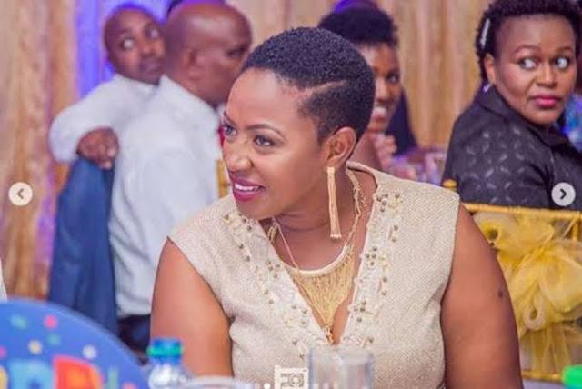 Sabina Chege talks about Uhuru loyalty at Sabina Joy in Nairobi. Photos and videos of Sabina joy