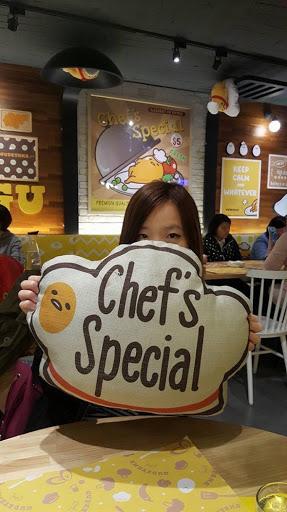 Gudetama Chef at Zhongxiao Dunhua Taipei