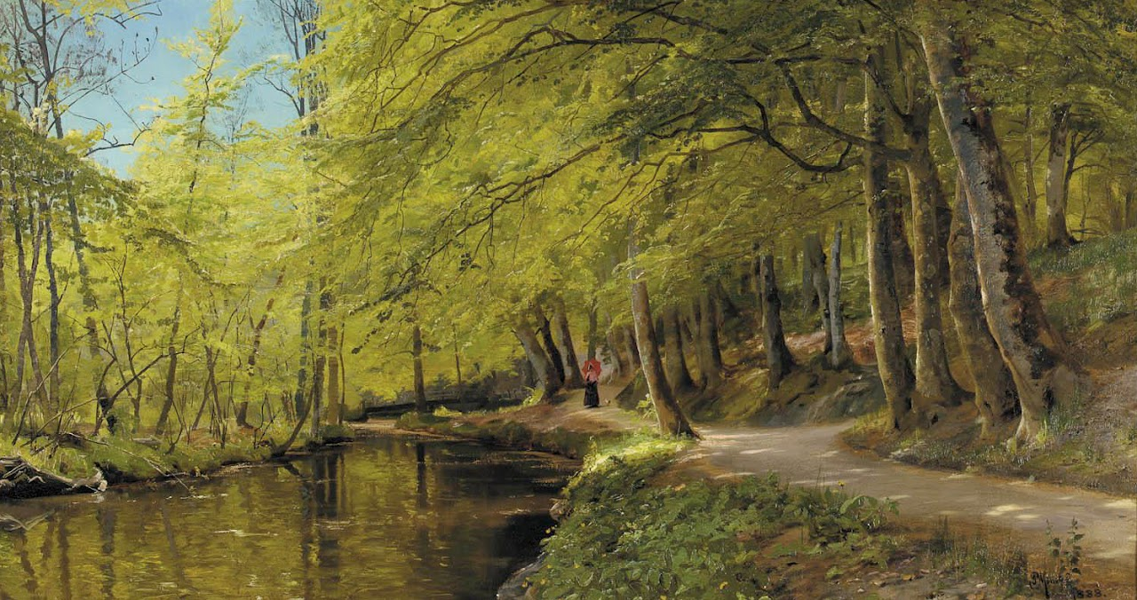 Peder Mork Monsted - An Afternoon Stroll