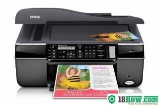 How to reset flashing lights for Epson WorkForce 315 printer