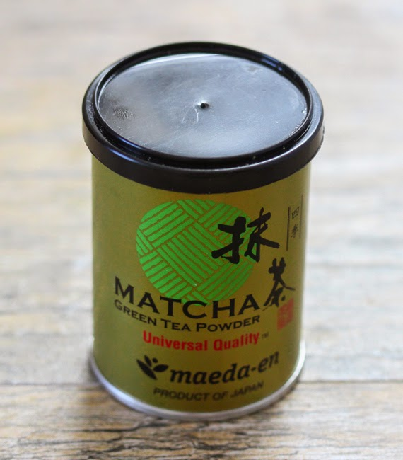 photo of a package of matcha powder