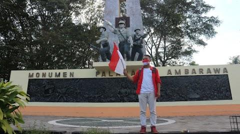 Merayakan Kemerdekaan Indonesia di Monumen Palagan Ambarawa pada Era Adaptasi Kebiasaan Baru