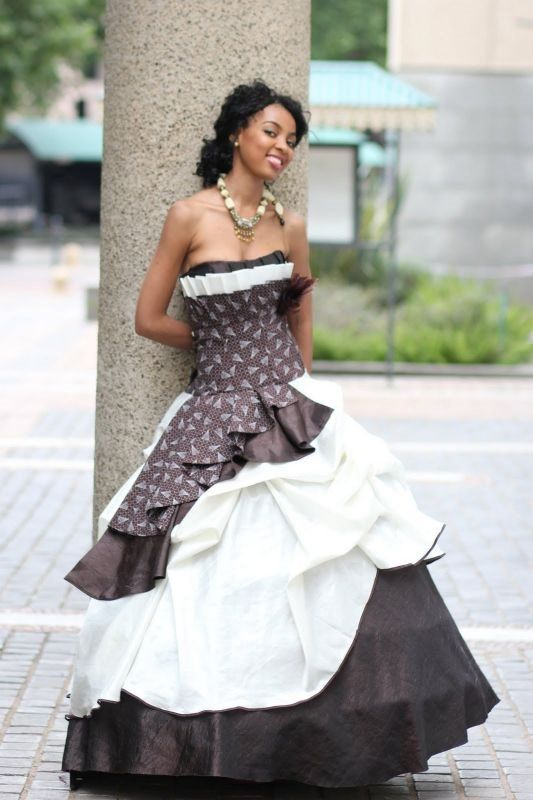 African Traditional Wedding Dresses South Africa 1