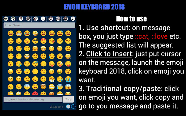 Emojis - Emoji Keyboard - Chrome Web Store