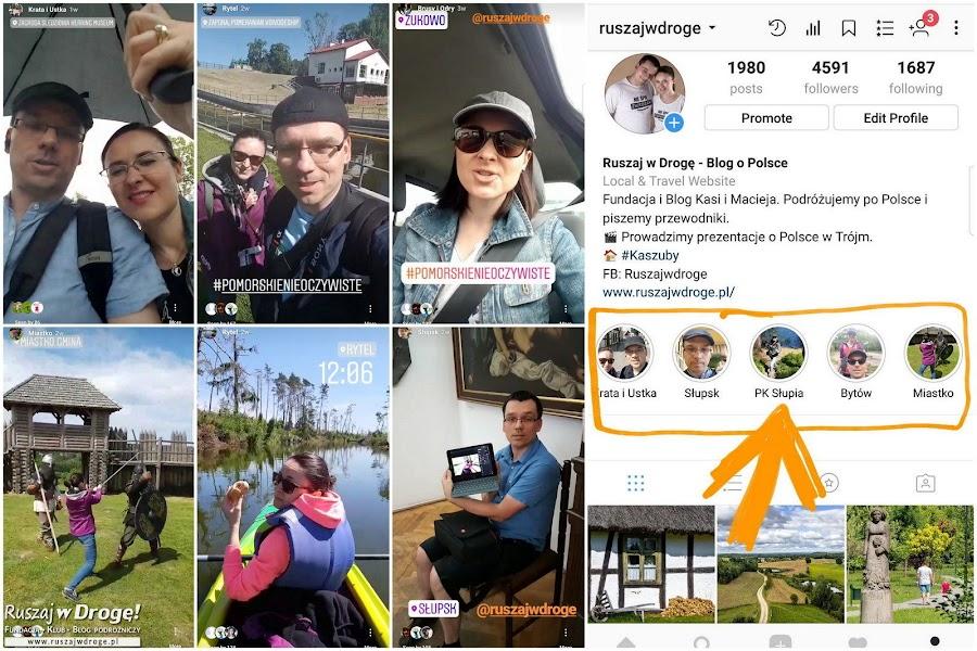Nasza relacja na żywo Pomorskie Nieoczywiste na Instagramie.