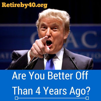 Are you better off than 4 years ago?
