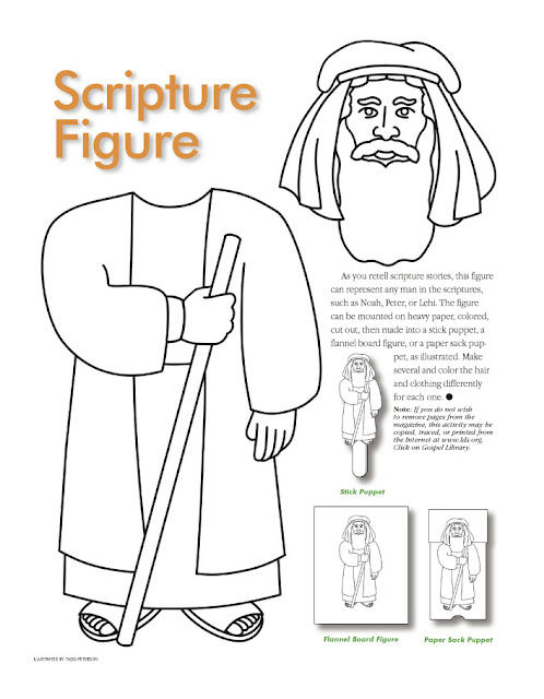 Scripture Figure Cutout