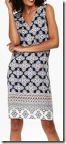 Wallis Blue Print Shift Dress