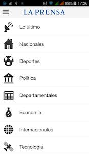 La Prensa Nicaragua - screenshot thumbnail