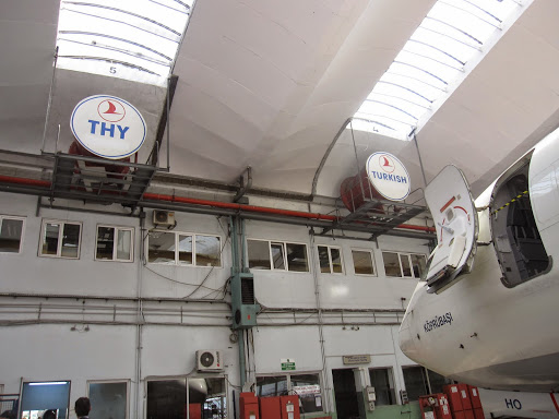 At Turkish Technic, Turkish Airlines repair hangars