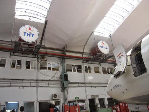 At Turkish Technic, Turkish Airlines repair hangars
