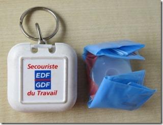 EDF GDF Secouriste du travail