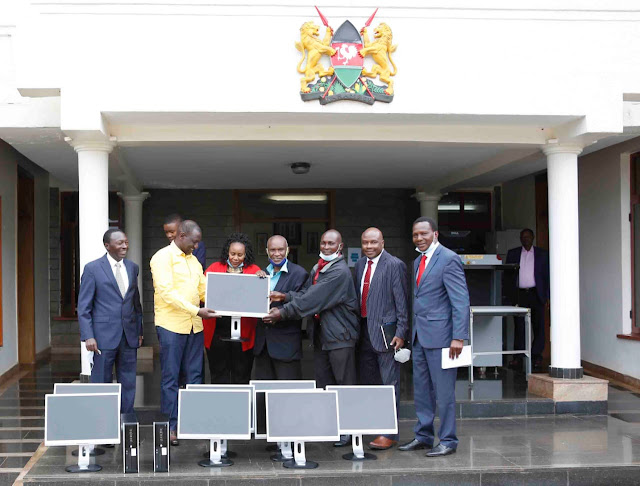 Deputy President William Ruto builds Hustlers nation from his office