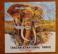 timbre Tanzanie 008 bloc