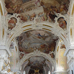 gorgeous paiting on the ceilings at bailika wilten in Innsbruck, Tirol, Austria