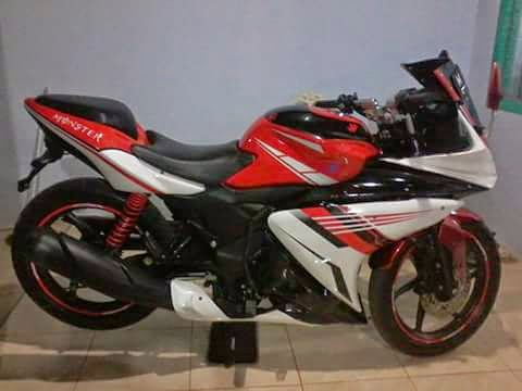 modifikasi honda verza full fairing terkeren