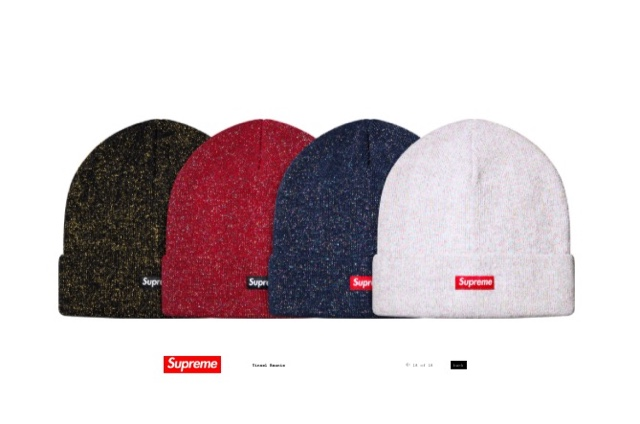 1223df2d770 Only fucking supreme would release a Christmas beanie for spring summer. If  it s glittery I have to have it