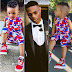 Wizkid and his Lil baby Boy looks soo Alike, see new photos