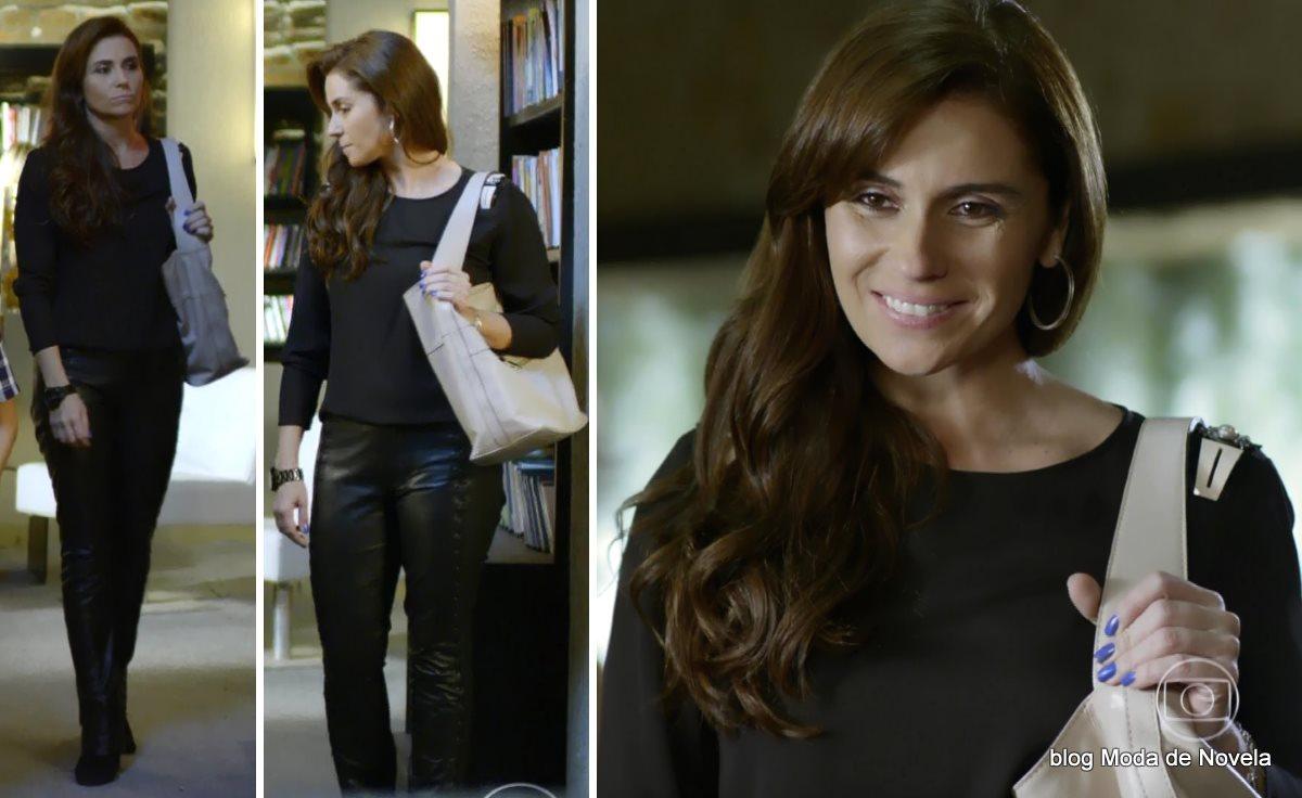 moda da novela Em Família - look da Clara dia 3 de julho