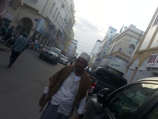 جمال في شارع جيبوتي فوق