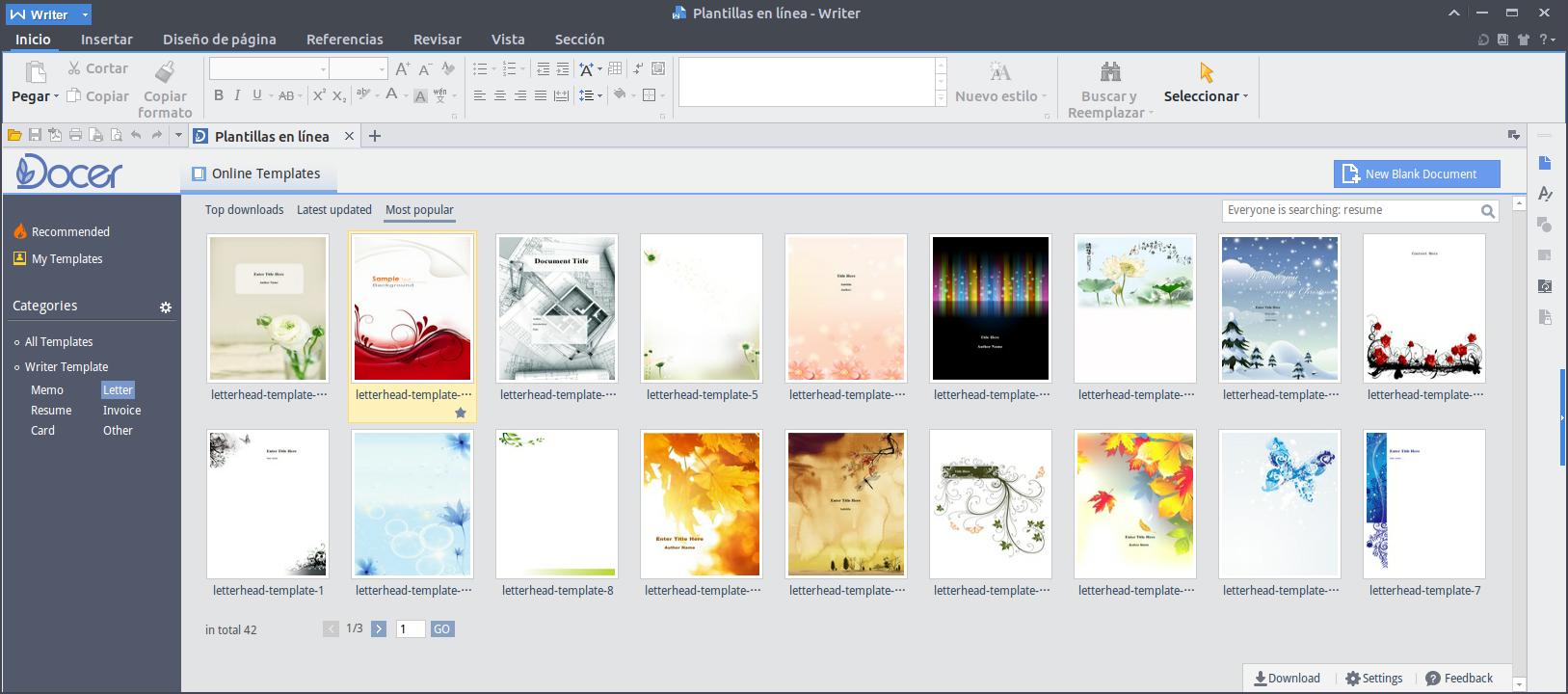 Liberado WPS Office para Linux - El atareao