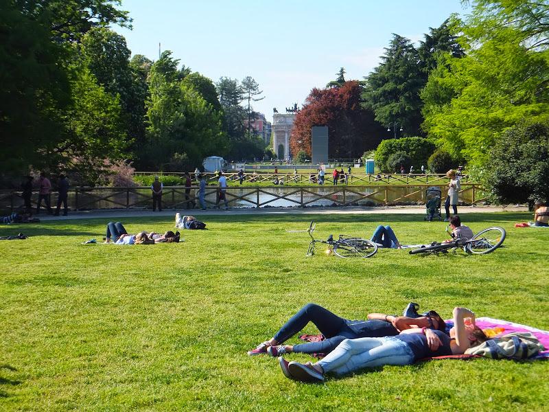 Milán, Milano, Italia, Parco Sempione, Castello Sforza, Elisa N, Blog de Viajes